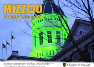 Mizzou Families Calendar 2020-21